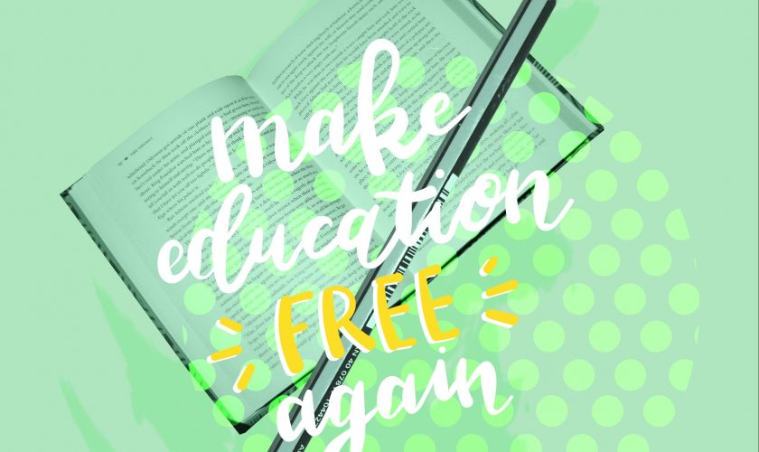 Make Education Free Again