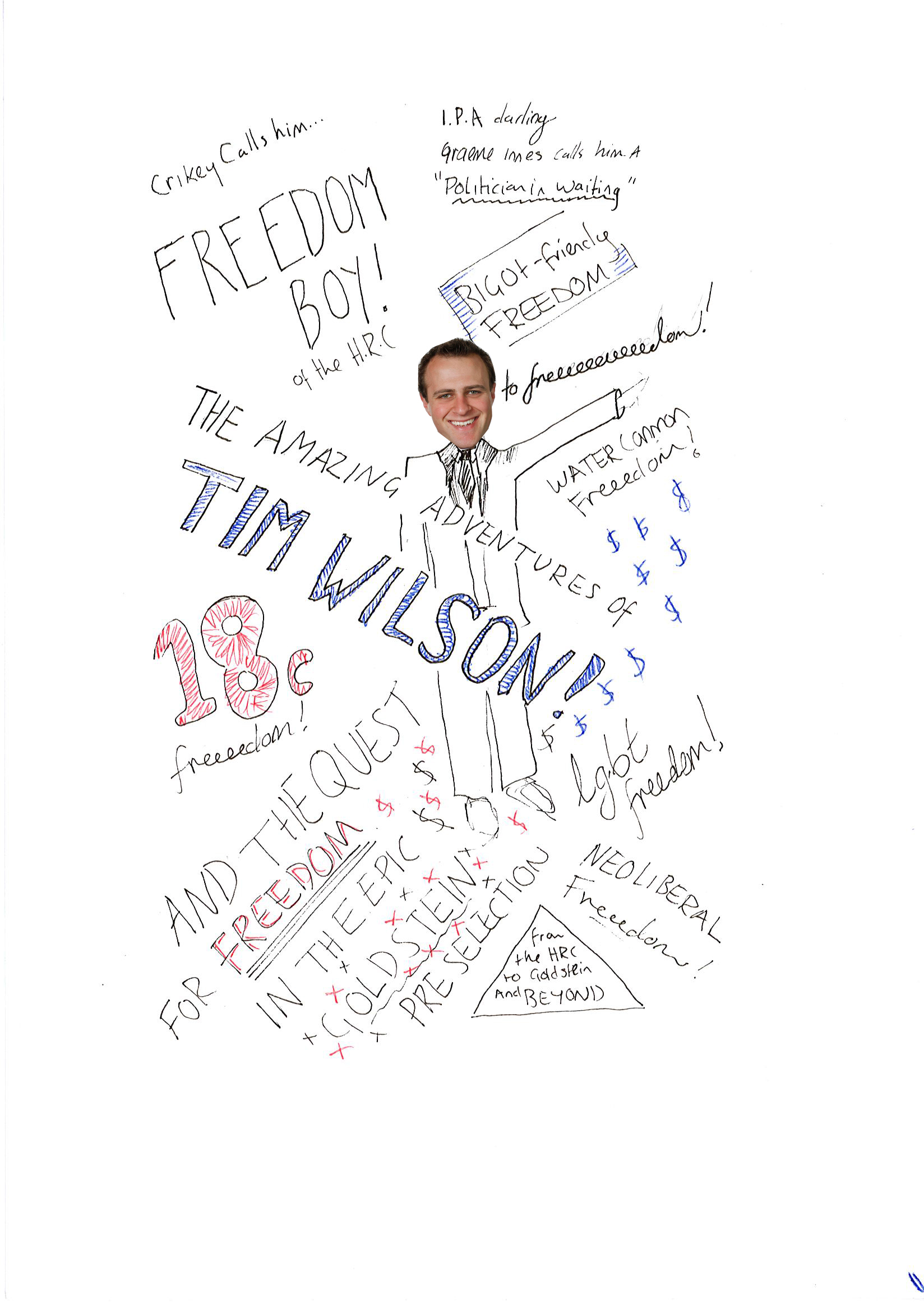 The amazing adventures of Tim Wilson