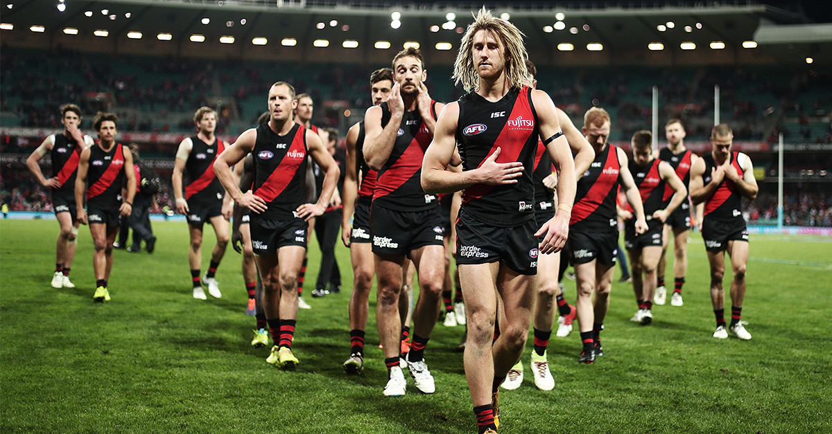 Essendon decide Bomber Thompson was onto something and will